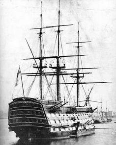 British Man of War -  1765 (the HMS Victory).