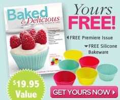 *HOT* FREE Re-Usable Baking Cupcake Cups! ($19.95 VALUE) - Raining Hot Coupons