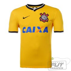 5735ba1cd34a6 Camisa Nike Corinthians lll 2014 - Fut Fanatics - Compre Camisas de Futebol  Originais Dos Melhores Times do Brasil e Europa - Futfanatics