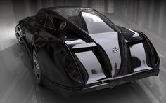 Maybach Exelero Rearview