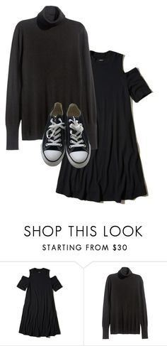 """""""12 degrees"""" by valentino-capsule on Polyvore featuring Hollister Co., H&M and Converse"""