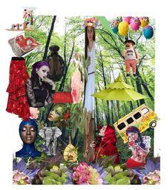 """FRANCESCA A REAL GYPSY, by GIDGILU"" by gidgi-lu ❤ liked on Polyvore featuring Pier 1 Imports, DK, Kat Von D, Jessica McClintock, Johanna Ortiz, Mabu and Picnic Time"