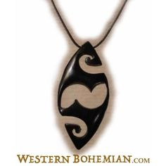 Zuni. horn pendant.