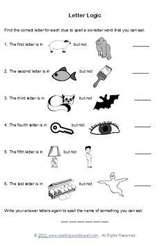 Brain Teaser Worksheets, Free Brain Teasers
