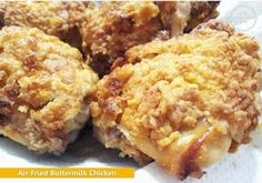 Air-Fried Buttermilk Chicken