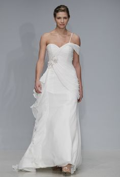 Brides: Alfred Angelo - Spring 2013. Gown by Alfred Angelo