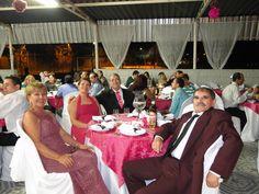 Pais da noiva e padrinhos