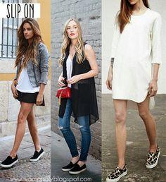 I want pretty: LOOK-Outfits con tenis para Primavera-Verano!