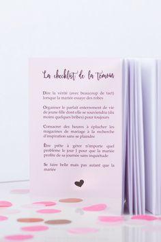 Téléchargez le livret de la témoin parfaite #demande #annonce#originale #témoin #box #mariage Photo by @Benoit Foujols