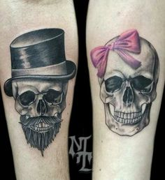 #tattoo #tatuagem #ink #inked #bodymodification #alineymarques #skull