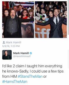 Sebastian ⭐ Stan and Mark Hamil