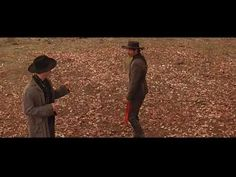 """Are we cross?"" and ""I'm your huckleberry"" Tombstone scenes. Love them both! http://dinnerdrinksandamovie.com/2013/01/15/ddm-classic-movie-scenes-2-tombstone-val-kilmer/#"