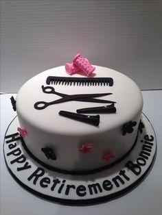 Hairdresser cake.