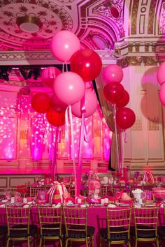 Candy Inspired, over-sized balloons
