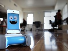 Romo - The Smartphone Robot for Everyone by Romotive, via Kickstarter.