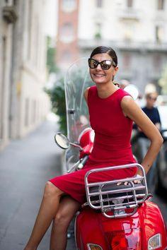 Giovanna Battaglia Image Via: The Cut