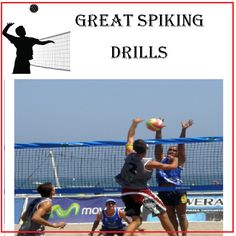 Check out these Spiking Drills http://greatvolleyballdrills.com/volleyball-spiking-drills/  #volleyballdrills #sportdrills #volleyballpractice