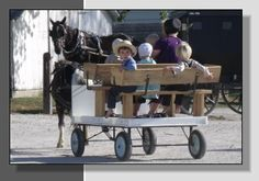 Jamesport, MO - Largest Amish community in MO. Heritage Day Festival is great.