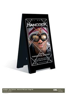 Hancock A board. Client: Sony Pictures. Circa 2008. © Sean Mowle.