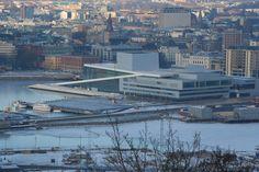 Bjørvika Oslo, San Francisco Skyline, Winter, Travel, Viajes, Destinations, Traveling, Trips, Tourism