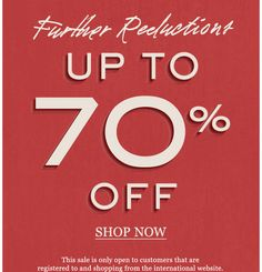 Mr Porter Further Reductions. Up to 70% off. Shop now