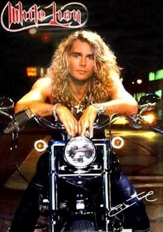 Mike Tramp-White Lion. When I was a kid I thought he was super cute.