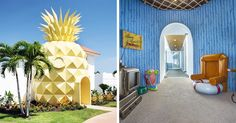 Spongebob Fans Can Now Sleep In A Real-Life Pineapple Hotel, Just Not Under The Sea | Bored Panda