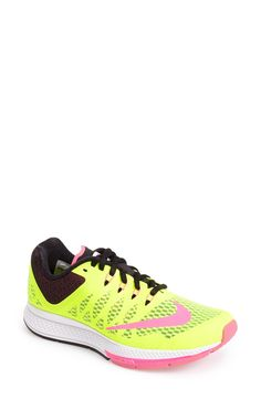 Obsessed with these neon Nikes.