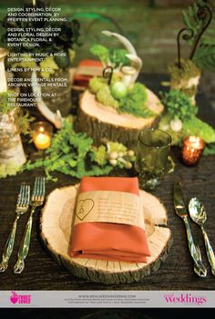 Once Upon a Forest-A Decor Story published in Real Weddings Magazine's Winter/Spring 2013 Issue. Photo by True Love Photo (c) Real Weddings Magazine; for full list of vendors in this shoot check out blog post: http://www.realweddingsmag.com/real-weddings-eye-candy-once-upon-a-forest-a-decor-story-blog-series/