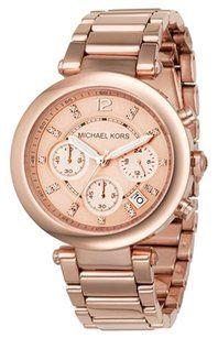 Michael Kors Michael Kors Ladies Parker Rose Gold Tone Watch, 39 MM, MK5277 MSRP $225