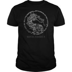 #gamer... Nice T-shirts  Mortal Kombat X Stone Logo  from (Cua-Tshirts)  Design Description: Mortal Kombat X Stone Logo  If you don't utterly love this Tshirt, you'll SEARCH your favorite one by way of using search bar on the header.....