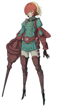 Yunika - Pictures & Characters Art - Gravity Rush