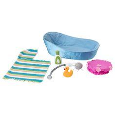 LEKKAMRAT Doll furniture, bathtub/accessories - IKEA ...Christmas for Collier