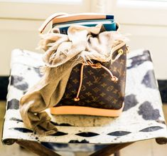 TagWalk's Founder On Her Typical Workday and More: Louis Vuitton Monogram Bucket Bag | coveteur.com