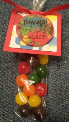 Paintball Party Favors