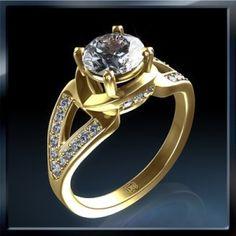 Diamantes con Anillos De Compromiso
