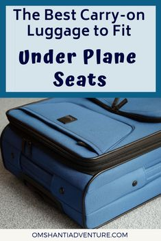 The Best Carry-on Luggage to Fit Under Airplane Seats 5464c8edeaf21