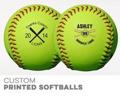 Custom Softballs
