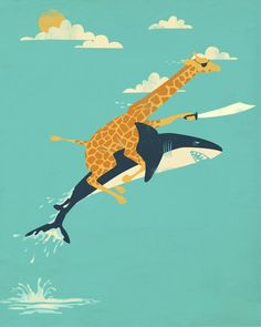 So this is a Giraffe.  With a Machete.  Riding a Shark. Your argument Is completely and absolutely invalid