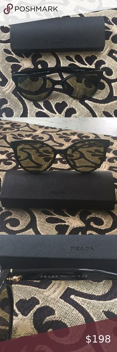 Prada Sunglasses Drivewear Black AUTHENTIC PRADA Brand new and never worn, prescriptivists Pristine condition, comes with Prada hard case and cloth. Prada Sunglasses, Sunglasses Accessories, Sunglasses Case, Women Accessories, Fashion Tips, Fashion Design, Fashion Trends, My Favorite Things, Closet
