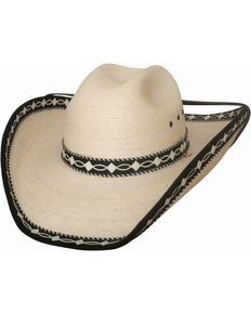 d5e1d76a6348f Bullhide Custom Made Palm Leaf Straw Cowboy Hat