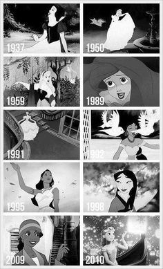 All of the Disney Princesses and Dates