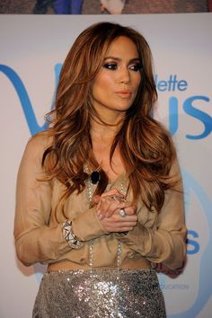layers and highlights, Jennifer Lopez Hair