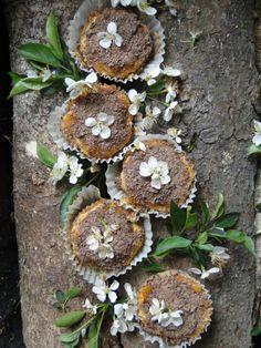 walnut ricotta tartlets