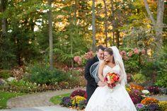 A beautiful fall #njwedding at the Crystal Plaza, New Jersey wedding by Jaye Kogut Photography