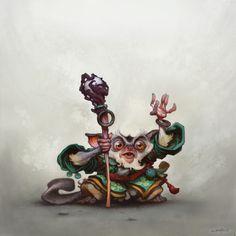Justin Gerard Character Art  http://muddycolors.blogspot.com/