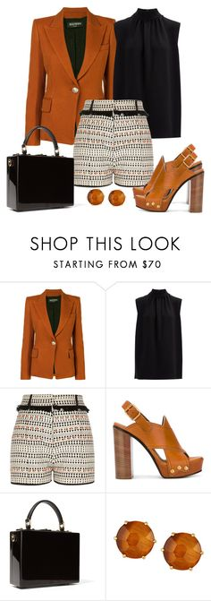 """Untitled #1463"" by gallant81 ❤ liked on Polyvore featuring Balmain, Joseph, River Island, Chloé, Dolce&Gabbana and Ippolita"