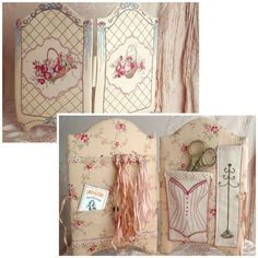 Country Bumpkin & Inspirations - beautiful embroidery & smocking: Lesley McConnell Patterns - Fifi's Boudoir Sewing Folder Pattern