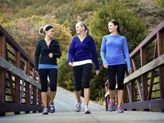 A clinical study shows walking or running 30 minutes a day prevents weight gain. More vigorous activity showed even more weight and fat loss.