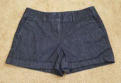 Womens Ann Taylor loft blue denim shorts size 4 Riviera Short | Clothing, Shoes & Accessories, Women's Clothing, Shorts | eBay!
